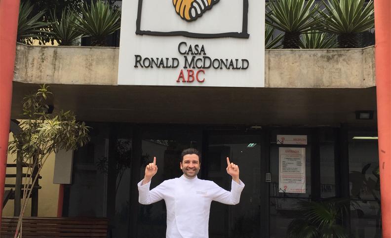 Oficina culin ria na casa ronald mcdonald socorro chef for Casa mcdonald
